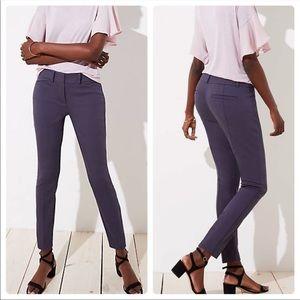 LOFT Marissa Skinny Dark Gray Size 4
